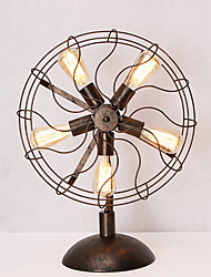 Рассеянное освещение Настольная лампа От электросети 220 Вольт Черный