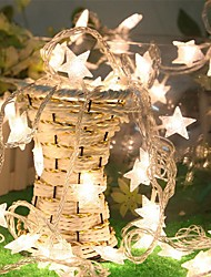 3M 30 Led Fairy Lights Star Battery Led String Lights For Holiday Wedding Party