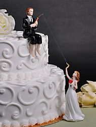 economico -cake topper wedding friends plexiglas confezione regalo per matrimonio