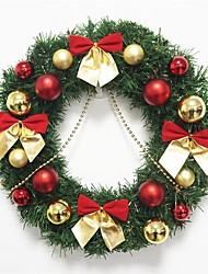 cheap -1pc Christmas Ornaments Garland for Holiday Decorations 30*30