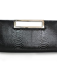 cheap -Women Bags PU Clutch Tiered for Event/Party All Season Black
