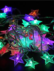 economico -10m 60led luci rgb luci stellari vacanza festa di nozze decorazioni tenda luci luci della stringa 220 v