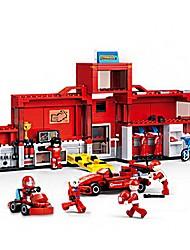Blocos de Construir Carro de Corrida Brinquedos Veículos Peças