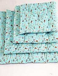 abordables -Chat Chien Pyjamas Animaux de Compagnie Tapis & Planches Animal Bande dessinée Garder au chaud Portable Diatonique double Doux Pliage
