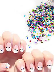 negle glitter art deco / retro negle smykker 0.003kg / box