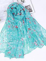 cheap -Women's Cotton Linen Rectangle All Seasons Green Blushing Pink Gray Yellow Khaki