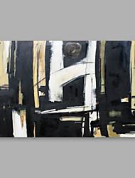 preiswerte -Handgemalte Abstrakt Horizontal,Modern Ein Panel Leinwand Hang-Ölgemälde For Haus Dekoration