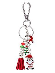 Chaveiro Jóias Liga Árvore da Vida Simples Casual Adorável Diário Natal