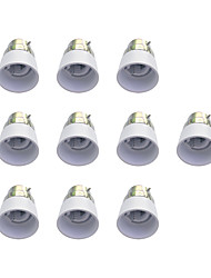 cheap -B22 to E14 Quick Bulb Converter Bulb Accessory 10Pcs