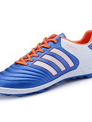 Masculino sapatos Borracha Primavera Outono Conforto Tênis Futebol Botas Curtas / Ankle Vazados Para Preto Vermelho Verde Azul