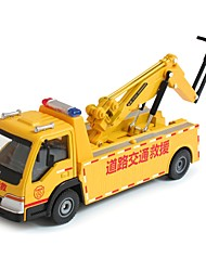 cheap -Emergency Vehicle Toy Truck Construction Vehicle Toy Car Educational Toy 1:50 Classic Pivoting Head Soft Plastic Metal Alloy 1pcs Kid's
