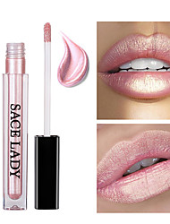 cheap -Lip Gloss Lipstick Shimmer Liquid Coloured gloss Pot gloss Moisture Waterproof 1