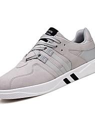 Da uomo Scarpe Cashmere Primavera Autunno Comoda Sneakers Lacci Per Casual Nero Grigio Bianco/nero Nero/Rosso