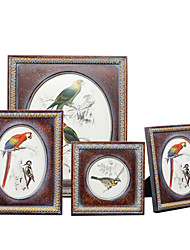 cheap -Classic European Style Country Wooden Painting Picture Frames Wall Decorations, 1pc