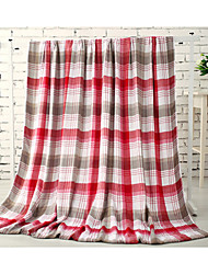 cheap -Super Soft Striped Polyester Blankets