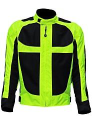 veste de protection de moto unisexe avec équipement de protection contre le vent de réflecteur pour motorsport
