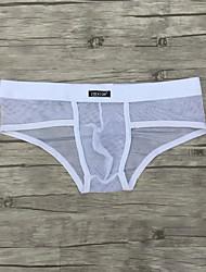 abordables -ropa interior blanca breve de los hombres breves / calzoncillos todas las estaciones cómodas