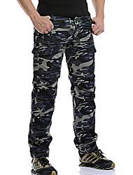 abordables -Hombre Tallas Grandes Algodón Chinos / Pantalones Pantalones - camuflaje
