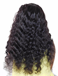 cheap -Human Hair Brazilian Natural Color Hair Weaves Hair Extensions 1pc Black