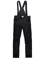 cheap -Ski Pants Ski Trousers Unisex Skiing Camping / Hiking Outdoor Exercise Snow sports Winter Sports Warm Waterproof Windproof Wearable