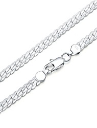 cheap -Men's Women's Chain Bracelet Fashion Silver Plated Geometric Jewelry For Gift