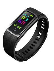 cheap -Smart Bracelet Smart Calories Burned Pedometers Touch Sensor Exercise Record Distance Tracking IP65 Waterproof Information Anti-lost
