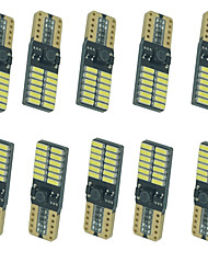 abordables -10pcs Automatique Ampoules électriques 5W SMD 4014 8 Clignotants For Universel Toutes les Années
