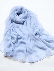 billige -Dame Rektangulær - Silke Ensfarvet
