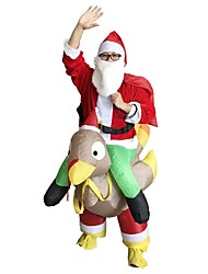 cheap -Holiday Santa Suit Santa Claus Unisex Christmas Carnival April Fool's Day Masquerade Valentine's Day Birthday Oktoberfest New Year