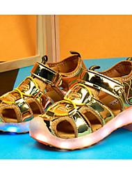 Fille Chaussures Autre Peau d'Animal Eté Confort Sandales Pour Décontracté Or Argent Fuchsia