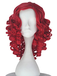 cheap -Synthetic Wig Curly Synthetic Hair Red Wig Women's Short Cosplay Wig / Natural Wigs / Lolita Wig Capless