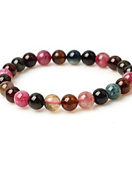 cheap -Women's Gemstone Strand Bracelet - Simple Fashion Circle Brown Bracelet For Street