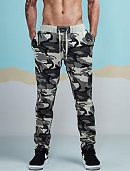 economico -Per uomo Attivo Cotone Pantaloni della tuta Chino Pantaloni - Camouflage