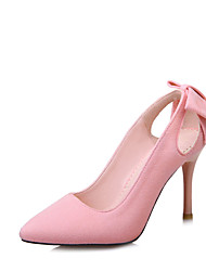 Homme-Bureau & Travail Habillé Soirée & Evénement-Noir Rose Gris-Talon Aiguille-club de Chaussures-Chaussures à Talons-Laine synthétique