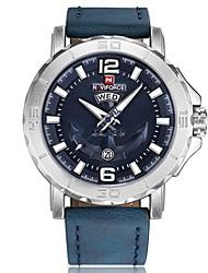 cheap -Men's Fashion Watch Military Watch Wrist watch Japanese Quartz Calendar / date / day Chronograph Water Resistant / Water Proof Punk