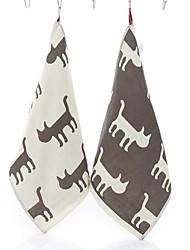 Style frais Essuie-mains,Créatif Qualité supérieure Pur Coton Serviette