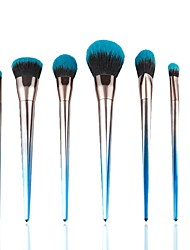 cheap -7 pcs Makeup Brush Set Pony Synthetic Hair Professional Soft Resin Blush