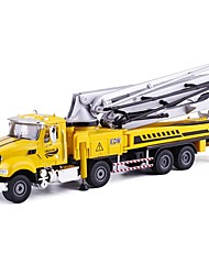 cheap -Concrete Pump Truck Toy Truck Construction Vehicle Toy Car Educational Toy 1:50 Classic Pivoting Head Soft Plastic Metal Alloy 1pcs Kid's