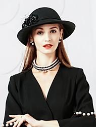 шерстяная сетка шляпы 1 головной убор свадебный вечер элегантный женственный стиль