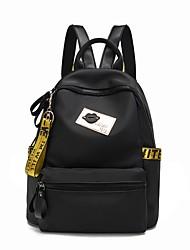 cheap -Women Bags Polyester School Bag Zipper for All Seasons Gold Rainbow