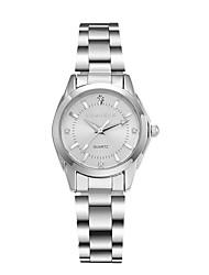 cheap -Women's Wrist watch Fashion Watch Quartz Water Resistant / Water Proof Alloy Band Silver