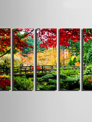 cheap -5 Canvas Vertical Print Wall Decor For Home Decoration