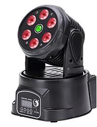 U'King 1set Eclairage Laser de Scène Lampe LED de Soirée DMX 512 Master-Slave Activé par son Auto Télécommande 100W Professionnel Haute