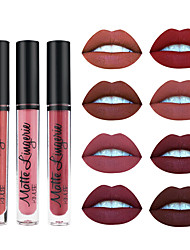 cheap -1Pcs Matte Liquid Lipstick Waterproof Long-Lasting Lip Velvet Makeup