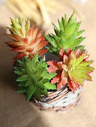 abordables -Flores Artificiales 5 Rama Europeo Plantas suculentas Flor de Mesa