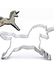 cheap -Unicorn Horse Cookies Cutter Mold Cake Decorating Biscuit Pastry Baking Mould