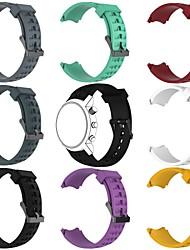baratos -Pulseiras de Relógio para SUUNTO Terra Suunto Fecho Clássico Silicone Tira de Pulso