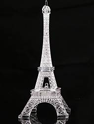 cheap -13CM Eiffel Tower LED Night Light Desk Wedding Bedroom Decorate Child Gift Lights Lamp