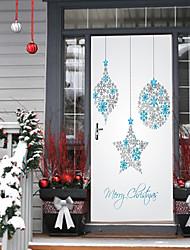 cheap -Christmas Romance Landscape Wall Stickers Housing Plane Wall Stickers 3D Wall Stickers Decorative Wall Stickers Wedding Stickers,Paper