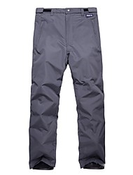 economico -Per uomo Pantaloni da sci Caldo Ompermeabile Traspirabilità Snowboard Ecologico Poliestere